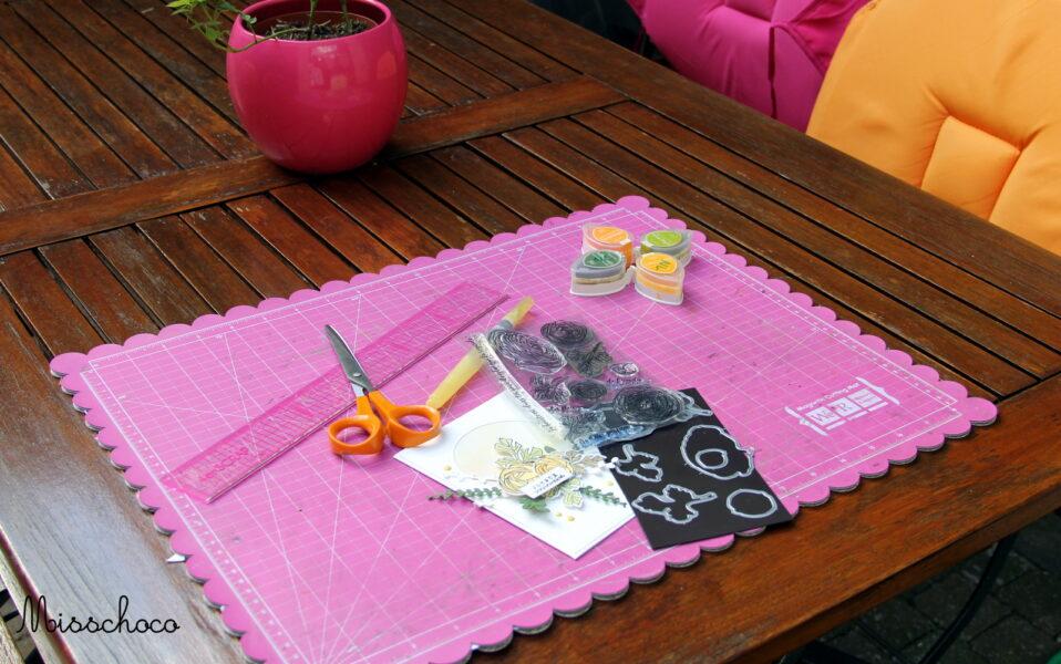 invitation 8eme anniversaire 4enscrap les coulisses